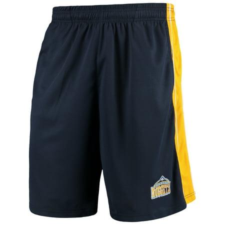 Denver Nuggets Majestic Big & Tall Birdseye Shorts - -