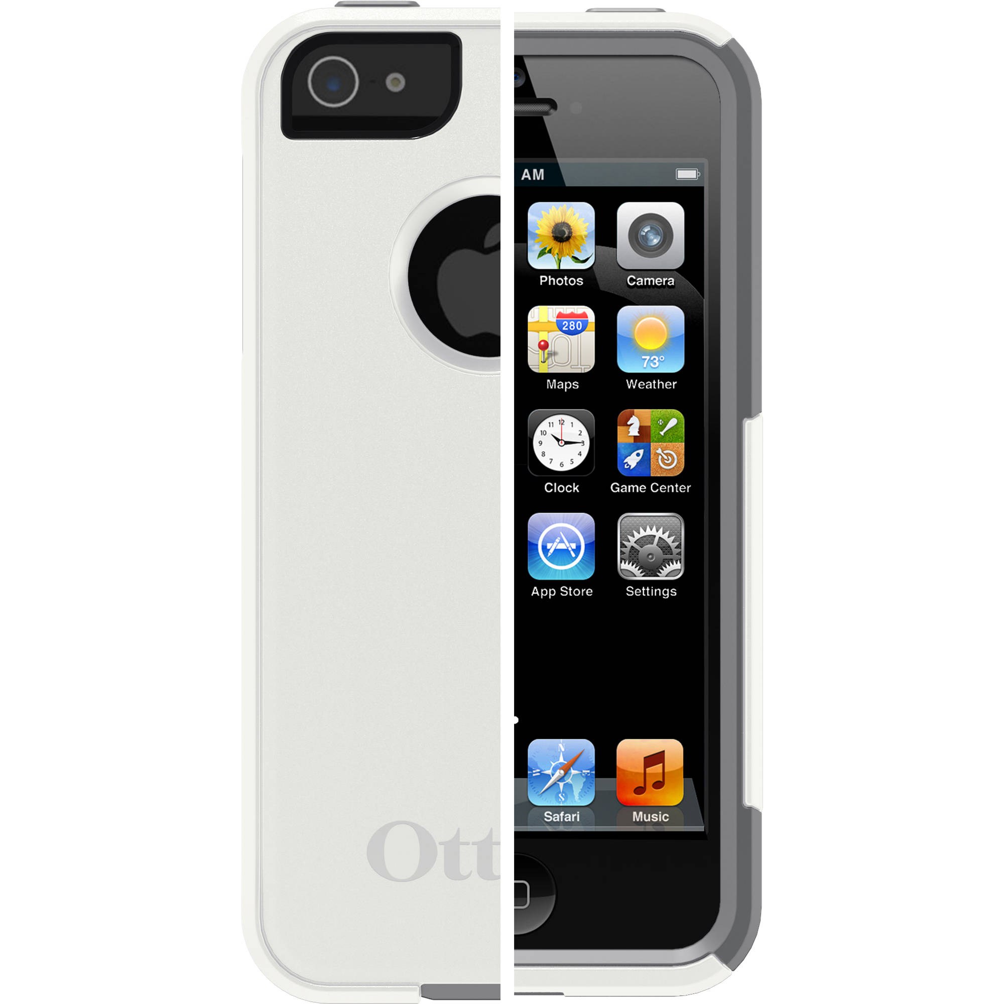 OtterBox Apple iPhone 5/5SE/5s Case Commuter Series, Glacier