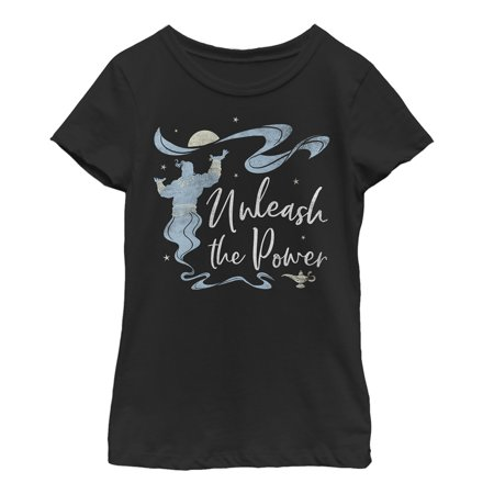 Aladdin Girls' Unleash the Genie T-Shirt
