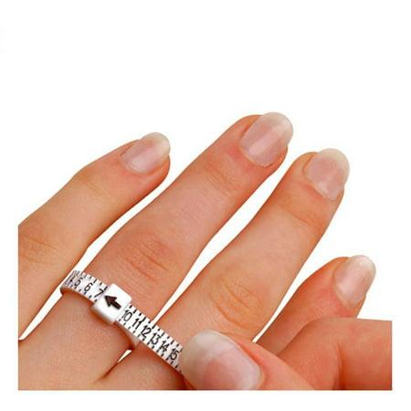 1-17 USA Sizes Economical Ring Sizer Gauge Finger Stick Mandrel Measurement