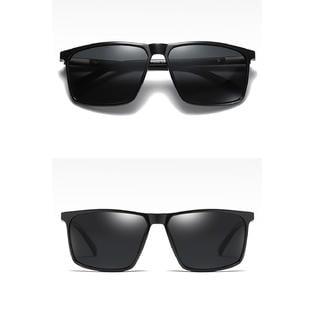 Men Square Polarized Quality Casual (Sunglass Quality)