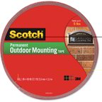 scotch foam mounting double sided tape 1 2 wide x 75 long. Black Bedroom Furniture Sets. Home Design Ideas