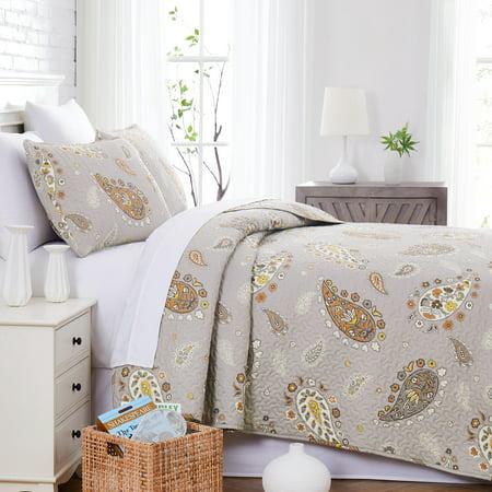 Vintage Paisley Oversized Premium Collection Quilt Set