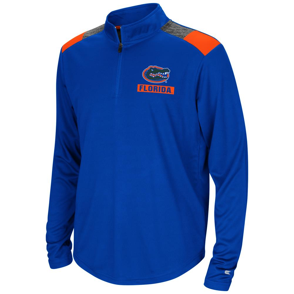 University of Florida Gators Youth Boys 1/4 Zip 99 Yards Pullover