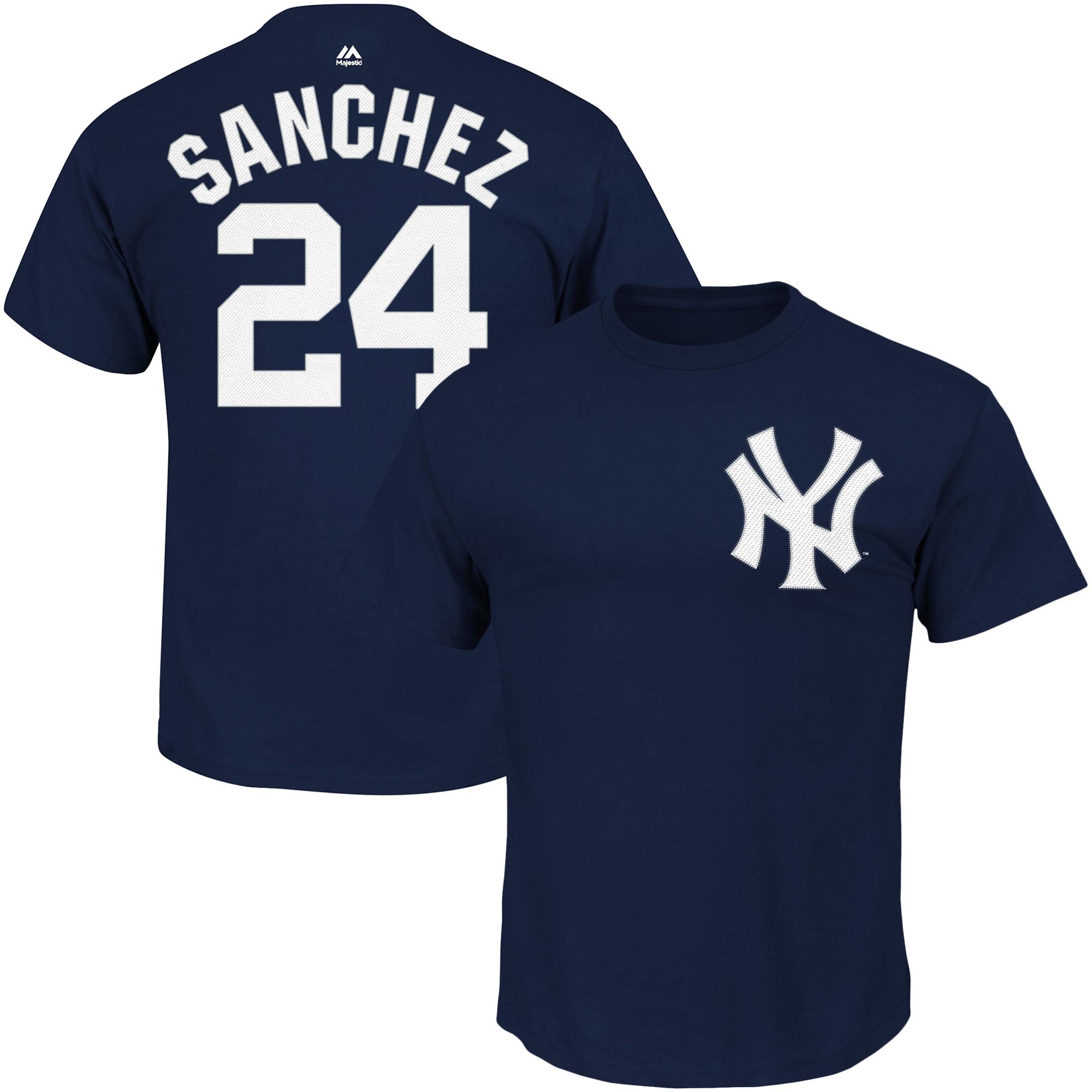 Gary Sanchez New York Yankees Majestic Big & Tall Player T-Shirt - Navy