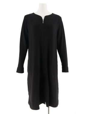 Carole Hochman French Terry Zip Up Robe A302155