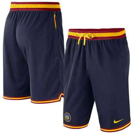 Denver Nuggets Nike Heavyweight DNA Performance Shorts - Navy