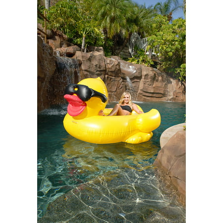 GAME Inflatable Riding Derby Duck ()