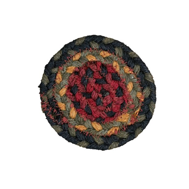 Homespice Decor Oklahoma Jute Braided Coaster 4 Oval Walmart Com Walmart Com