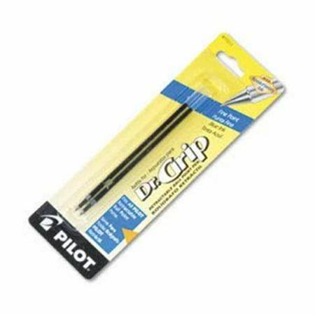 Pilot 77211 Better, Easy Touch & Dr. Grip Retract Ballpoint Refill - Fine, Blue - 2 per Pack