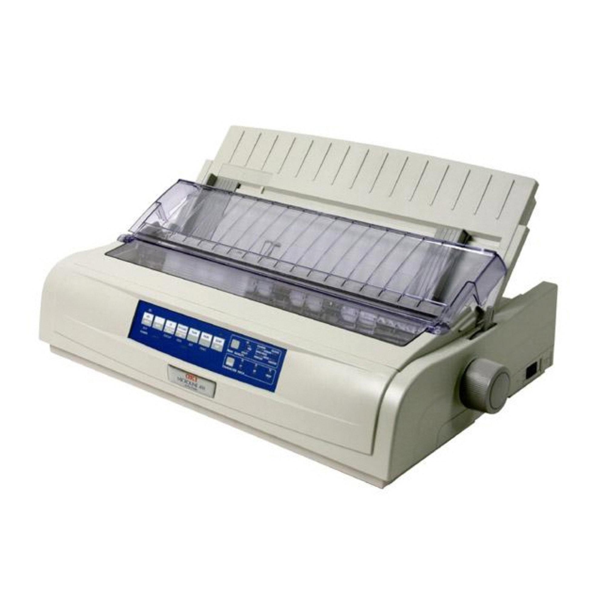 Okidata Microline 491n Dot Matrix Printer - Beige