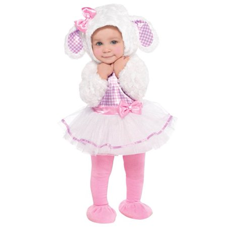Infant Lamb Costume (Infant Sized Little Lamb Costume 0-6)