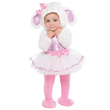 Infant Sized Little Lamb Costume 0-6 Months (Lamb Infant Costume)
