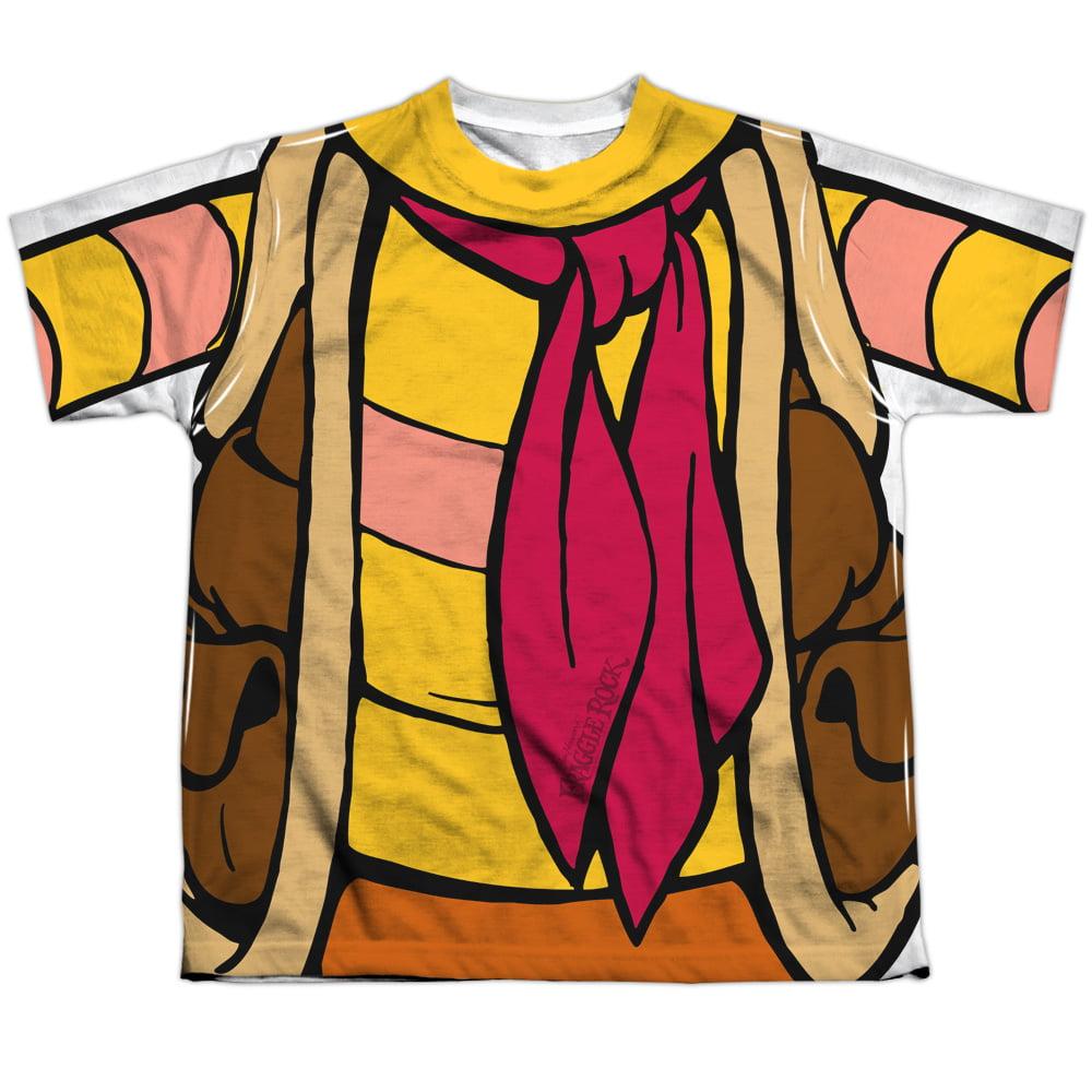 Fraggle Rock Gobo Uniform Big Boys Sublimation Shirt