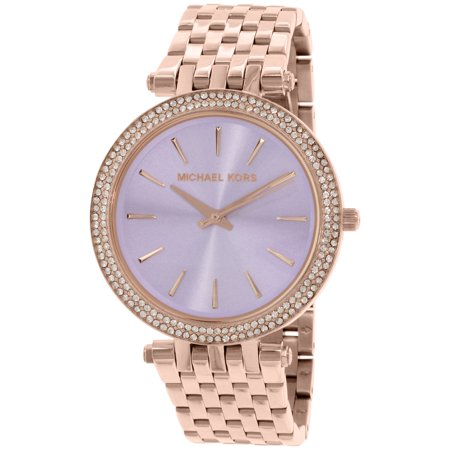 Michael Kors Women's Darci MK3400 Rose Gold Stainless-Steel Quartz Fashion Watch
