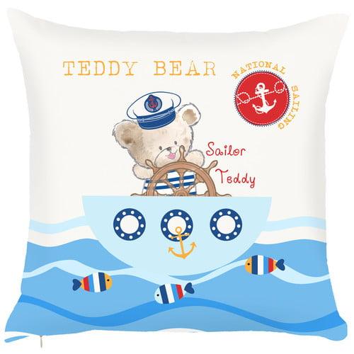 Debage Inc. Costal Teddy Bear Throw Pillow