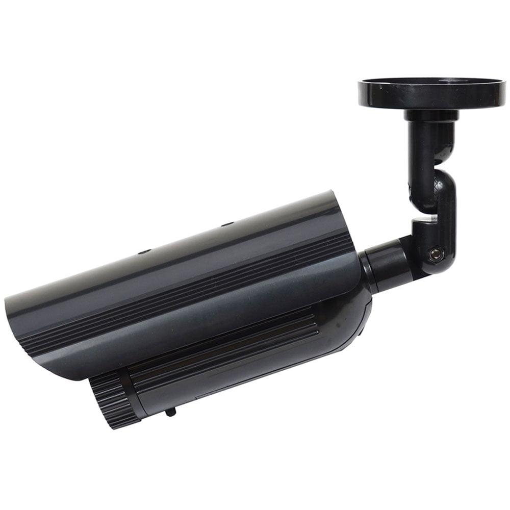 VideoSecu 4 Fake Surveillance Camera Dummy Infrared IR LED Light ...