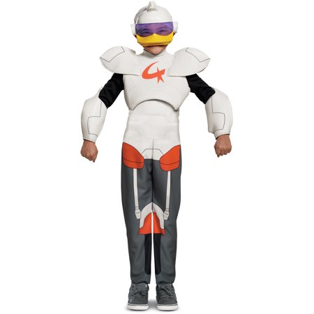 Child's Boys Duck Tales Gizmo Duck Superhero Robot Deluxe Costume