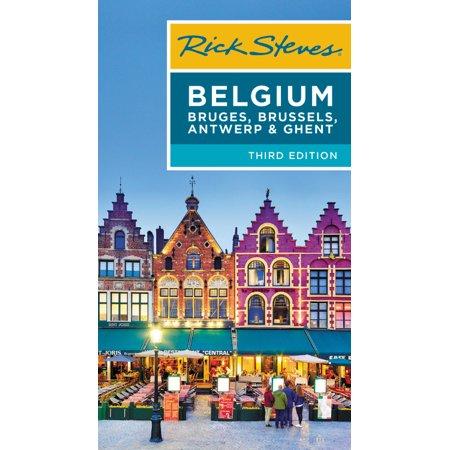 Rick steves belgium: bruges, brussels, antwerp & ghent - paperback: