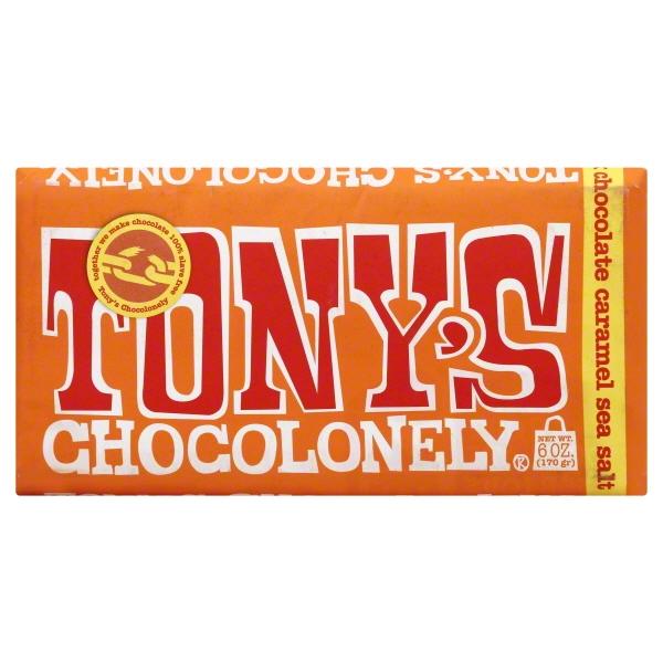 Tony's Chocolonely Milk Caramel Sea Salt (15x6 OZ  )