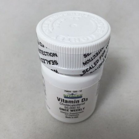 Nivagen Vitamin D3 Capsules  50 000Iu  12Ct