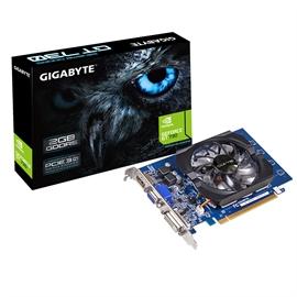 Gigabyte Ultra Durable 2 Gv-n730d5-2gi [rev. 2.0] Geforce Gt 730 Graphic Card - 902 Mhz Core - 2 Gb Gddr5 Sdram - Pci Express 2.0 X8 - 5000 Mhz Memory Clock - 4096 X 2160 - Fan (gv-n730d5-2girev2-0)