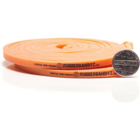 Pair of RB Light Rehab Bands - #1 Orange - 5 - 15 lb (2 - 7 kg) Resistance
