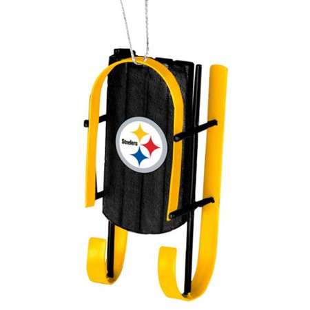 Steelers Christmas Ornaments.Pittsburgh Steelers Official Nfl Sled Christmas Ornament By