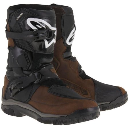Alpinestars Belize Drystar Oiled Leather Motorcycle Boots (Brown)