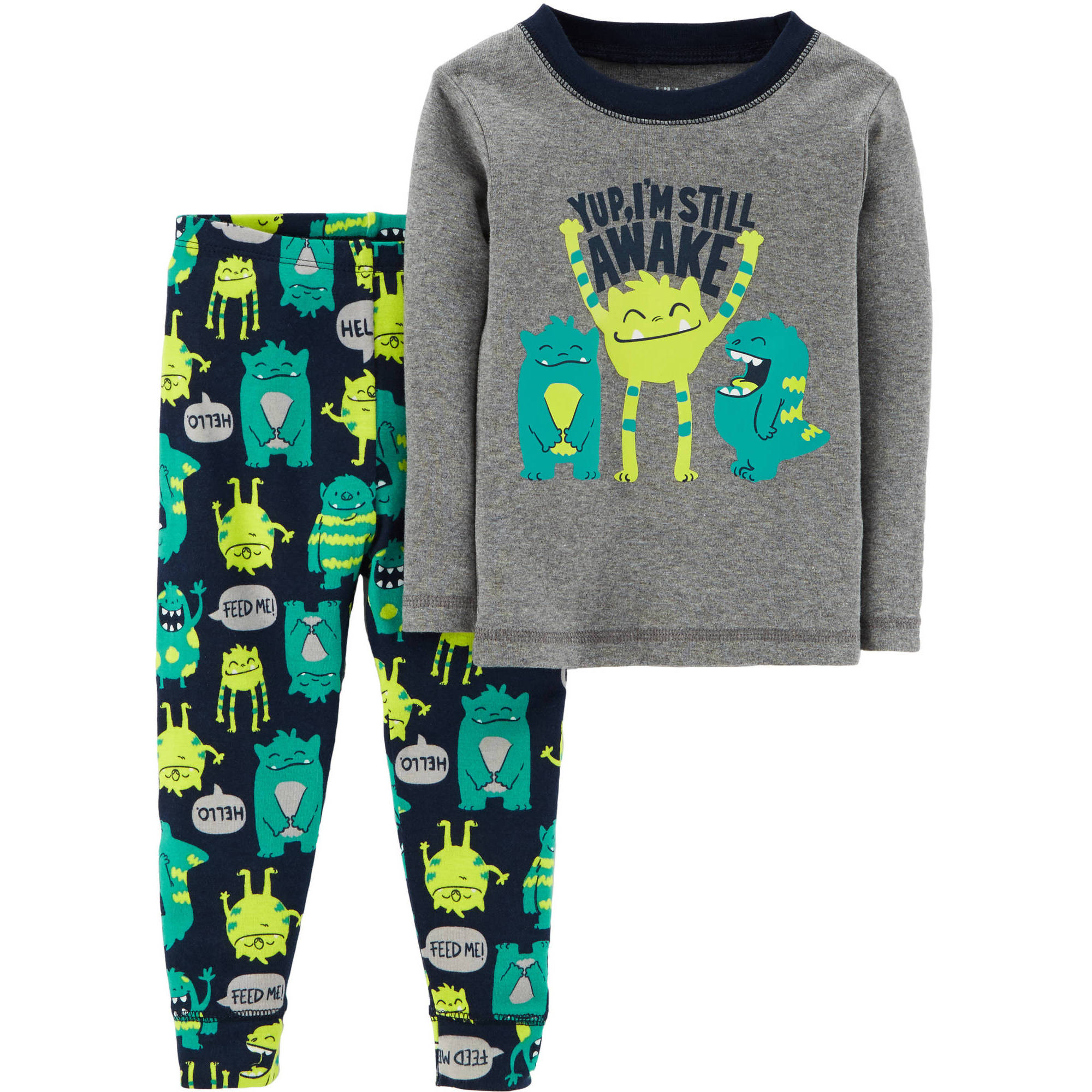Child of Mine by Carter's Toddler Boy 2 Piece Cotton Pajamas