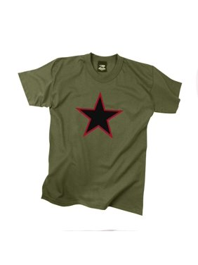 Product Image Red China Star Olive Drab T-Shirt 28c4cb31923