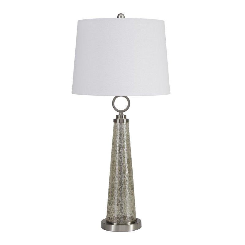 Ashley Arama Glass Table Lamp in Mercury Glass - image 2 de 2