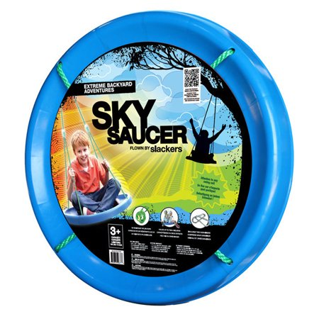 Sky Saucer Backyard Children's Swing by Slackers