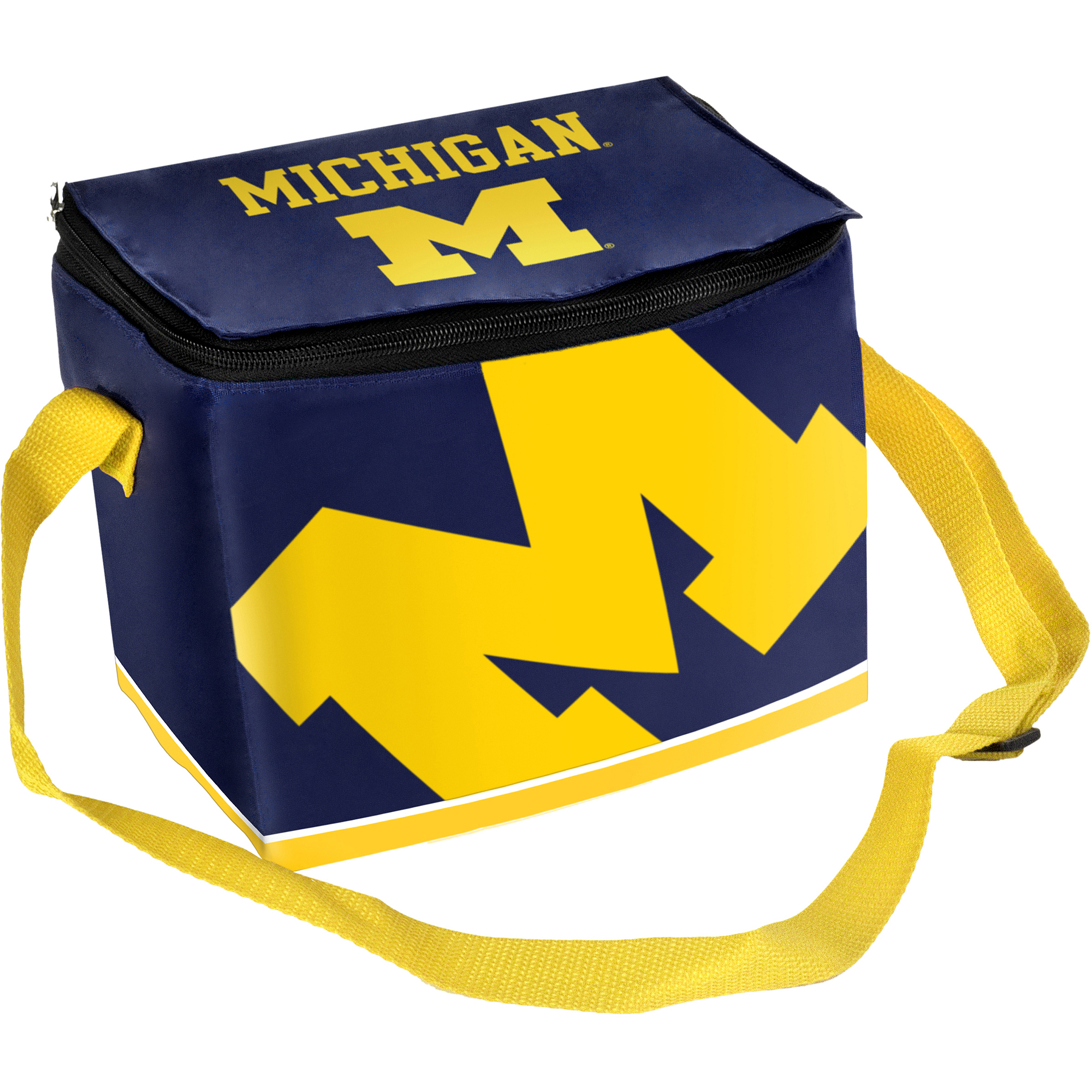 NCAA Zipper Lunch Bag - University of Michigan Wolverines