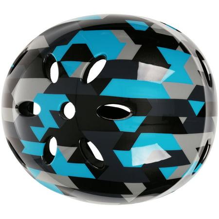 Razor V17 Geo Multi-Sport Child's Helmet, Black/Blue