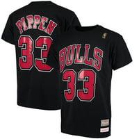 8e3dea286 Product Image Scottie Pippen Chicago Bulls Mitchell   Ness Hardwood Classics  Retro Name   Number T-Shirt
