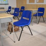 Ergonomic Shell Stack Chair w Heavy Duty Frame