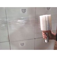 Hand Stretch Wrap,Clear,1000 ft.L,5In W 15A909
