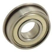 EZO SFRW168ZZA3MC3SRL Ball Bearing,0.2500in Dia,38 lb,Flanged