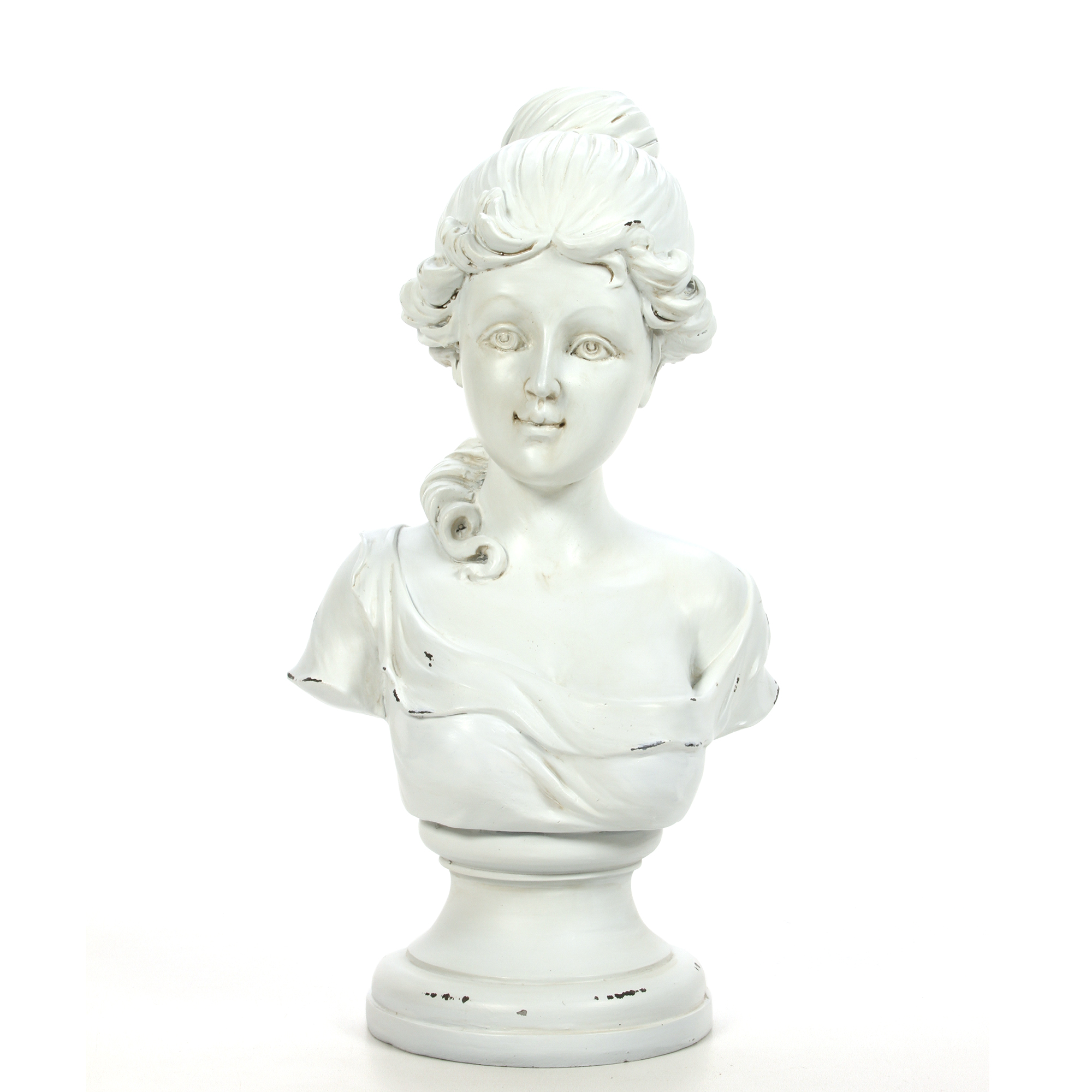 Decorative Tabletop Victorian Bust Sculpture by Hosley China Industries