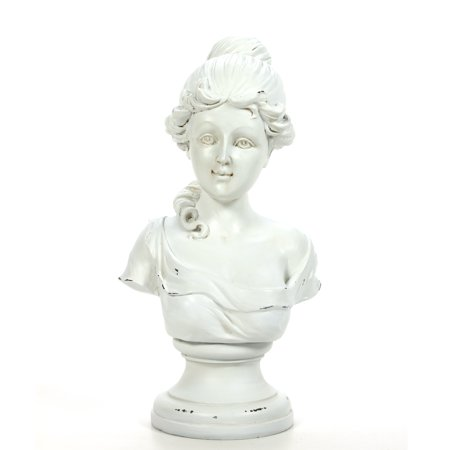 - Decorative Tabletop Victorian Bust Sculpture