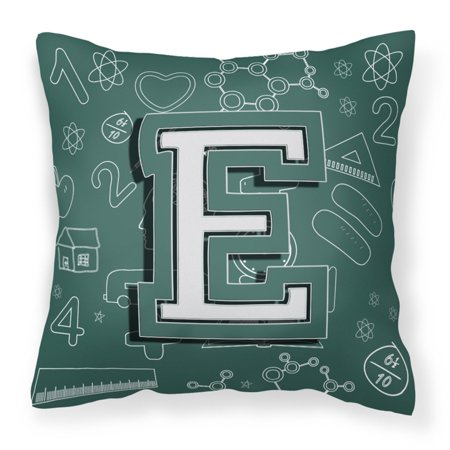 Carolines Treasures Back To School Monogram Decorative Outdoor Pillow](Cheap Monogram Stuff)