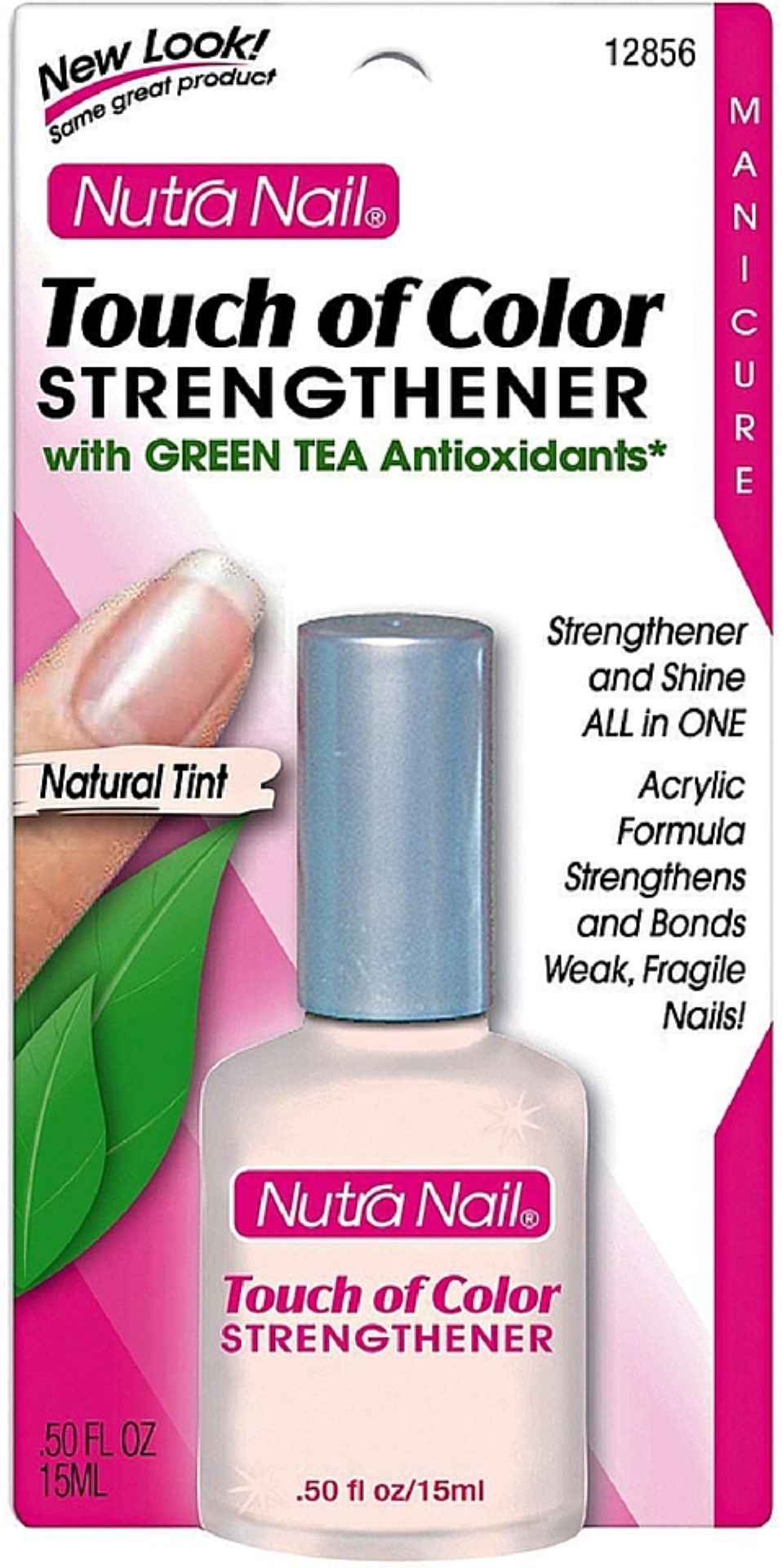 Nutra Nail Touch of Color Strengthener Plus Green Tea Polish, 0.5 ...