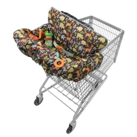 infantino compact 2-in-1 shopping cart cover keep your bIy clear of germy carts and highchairs with this stylish and comfy coverSKU:ADIB004Y426XM