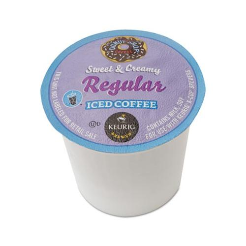 Green Mountain Coffee Roasters Sweet & Creamy Regular Iced Coffee K-Cup Pack GMT6603