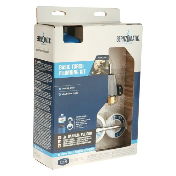 Bernzomatic Basic Trigger Start Torch Plumbing Kit WPK3201 - Walmart.com