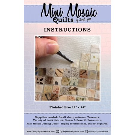 Mini Mosaic Quilts Cutting Guide and Instructions by Cheryl (Gold Mine Price Guide)