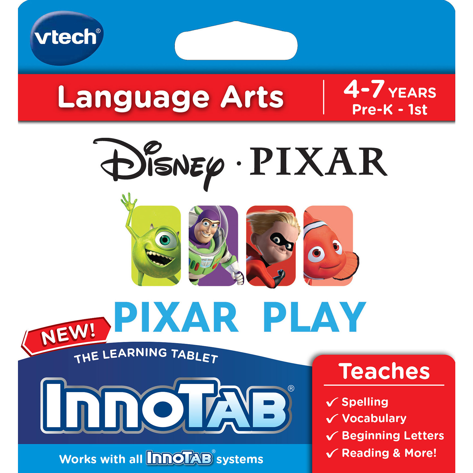 VTech InnoTab Software, Disney/Pixar Play