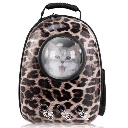 c2b8a43f94 Costway Astronaut Pet Cat Dog Puppy Carrier Travel Bag Space Capsule  Backpack Breathable - Walmart.com