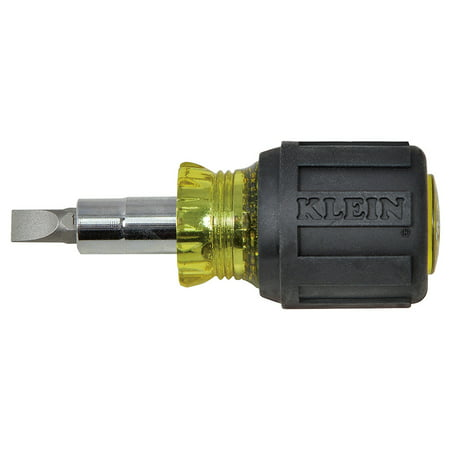 Klein Tools 32561 Stubby Multi-Bit Screwdriver/Nut Driver